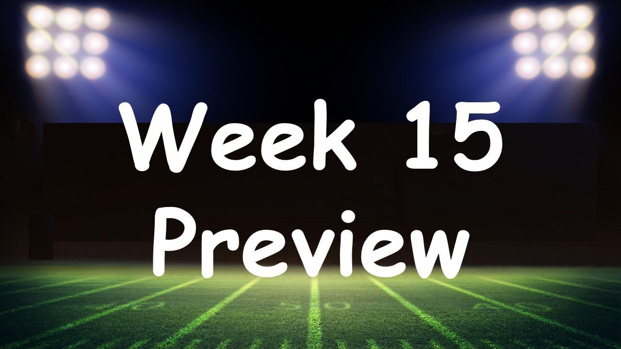 【Week15】シーズンも大詰め!プレーオフ争いの行方は??