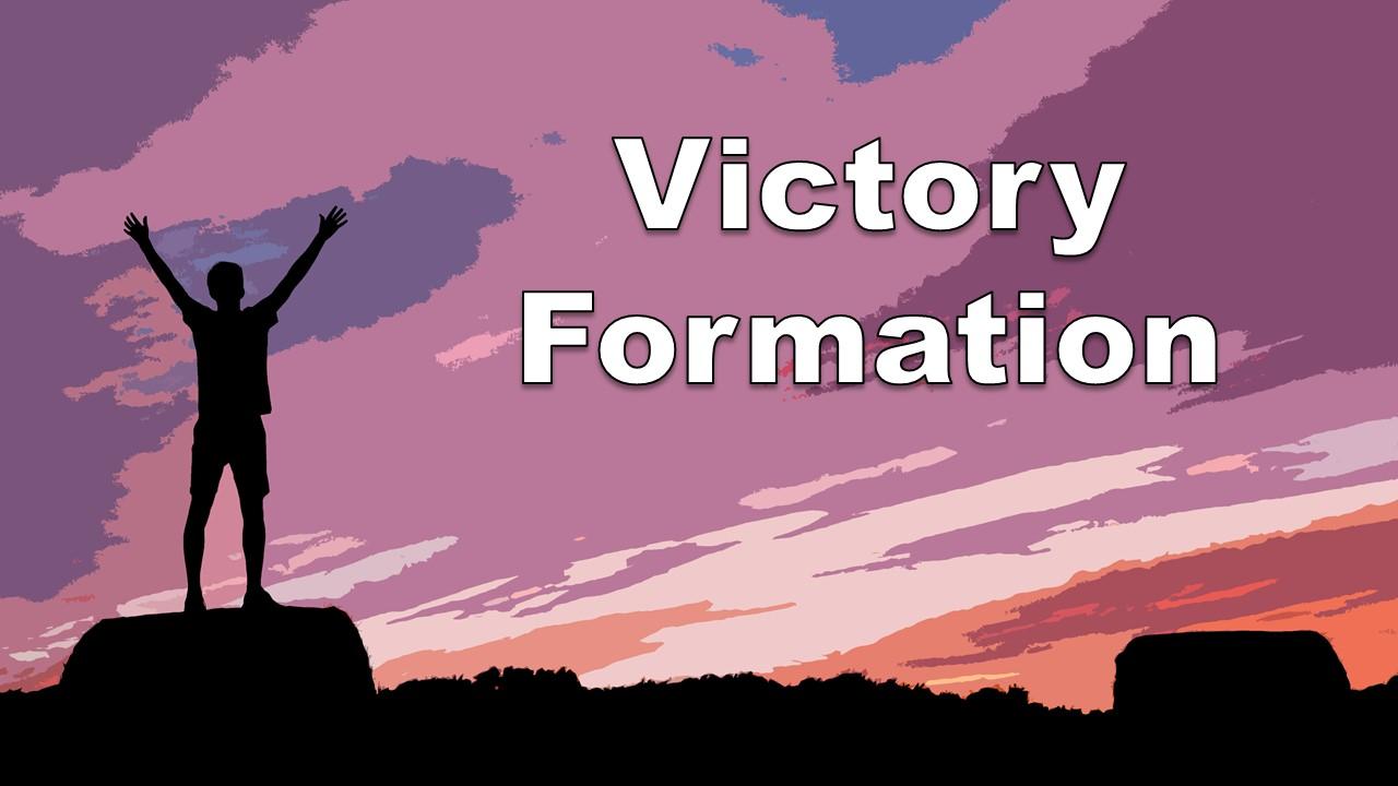 勝者だけが組める『ヴィクトリー・フォーメーション』とは!?