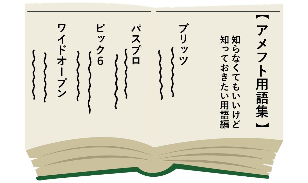 【アメフト用語】サラッと言えるとカッコいい!?知っておきたいアメフト用語!!