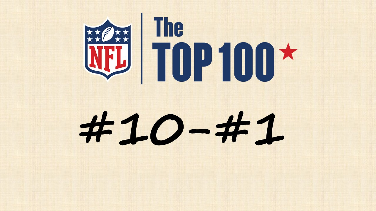 【NFL Top100 in2020】選手達が決めるランキング100! 10位~1位