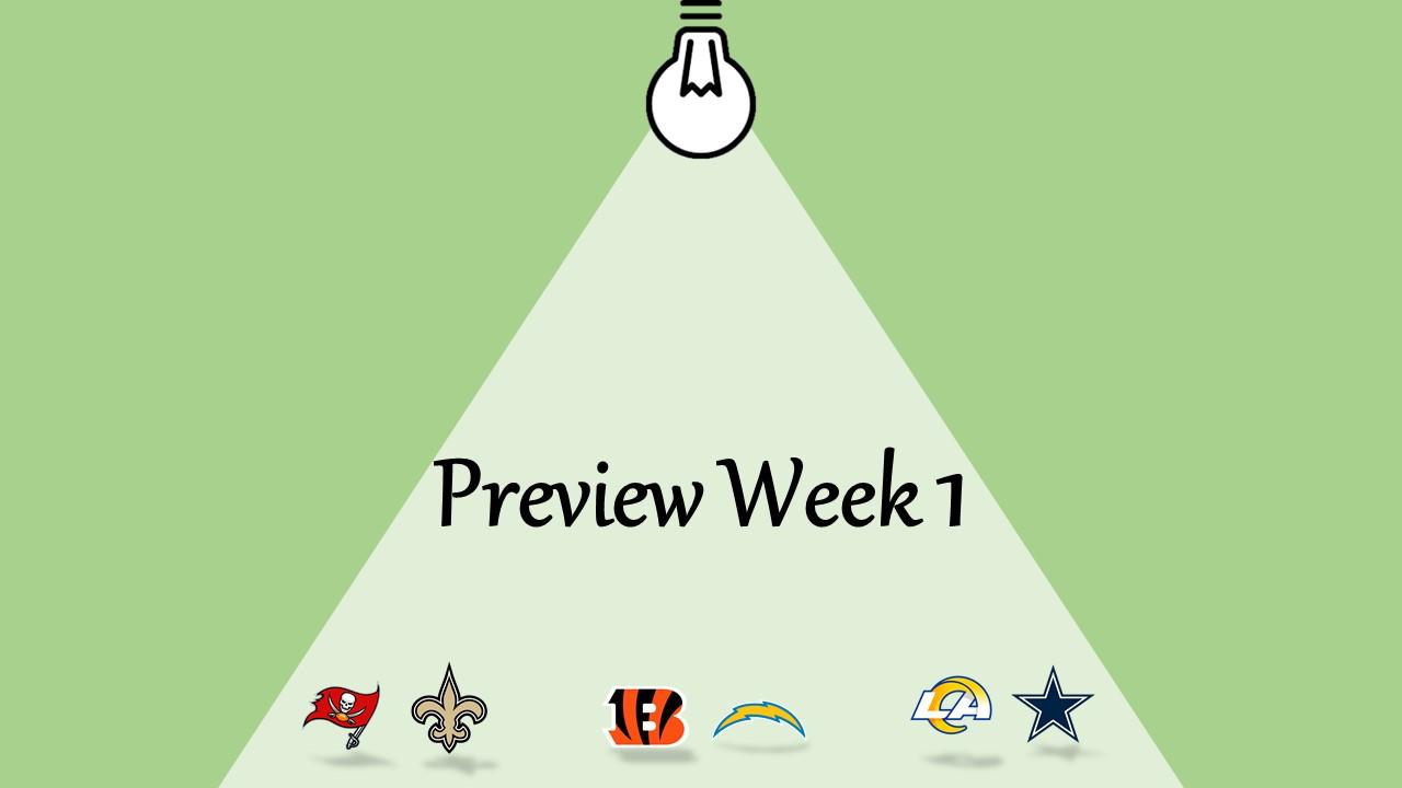 【プレビュー】Week1注目の試合3選|今シーズン最大の好マッチが!