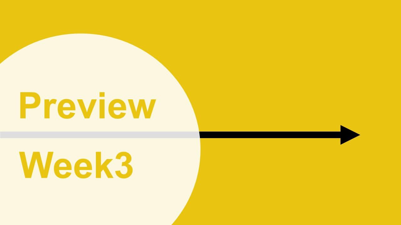 【プレビュー】Week3 注目の試合|今週は好マッチ多発!!