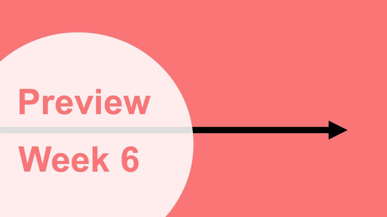 【プレビュー】Week6 注目の試合|これは見逃せない好カード!!