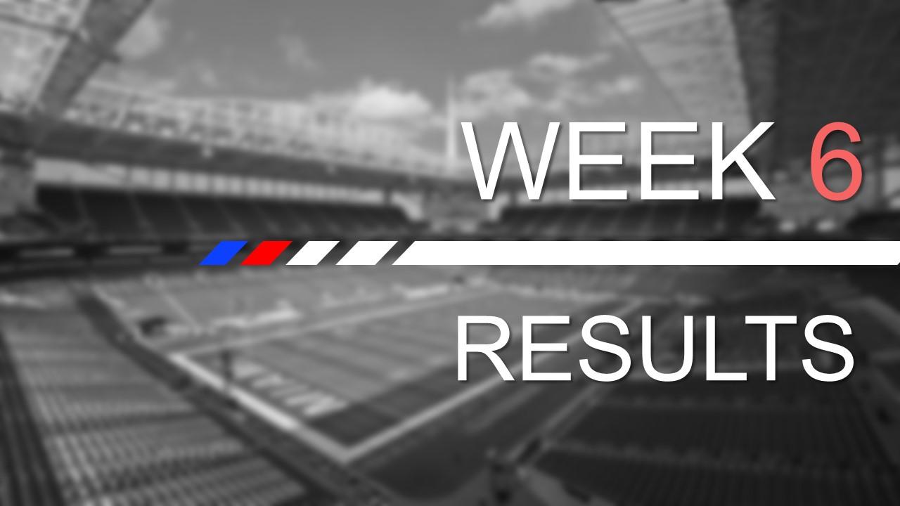 【試合結果】Week6の振り返り|今週はヘンリー祭りだ!!!