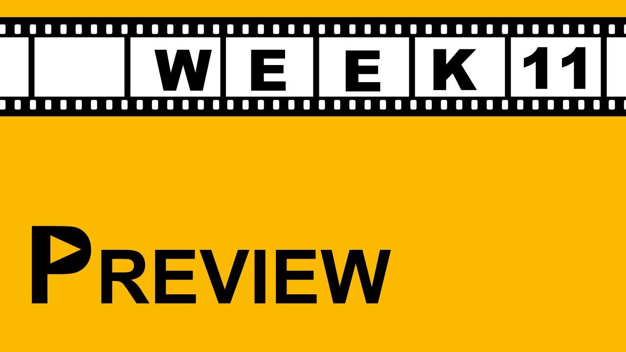 【プレビュー】Week11 注目の試合|ついにあの選手が先発に!?