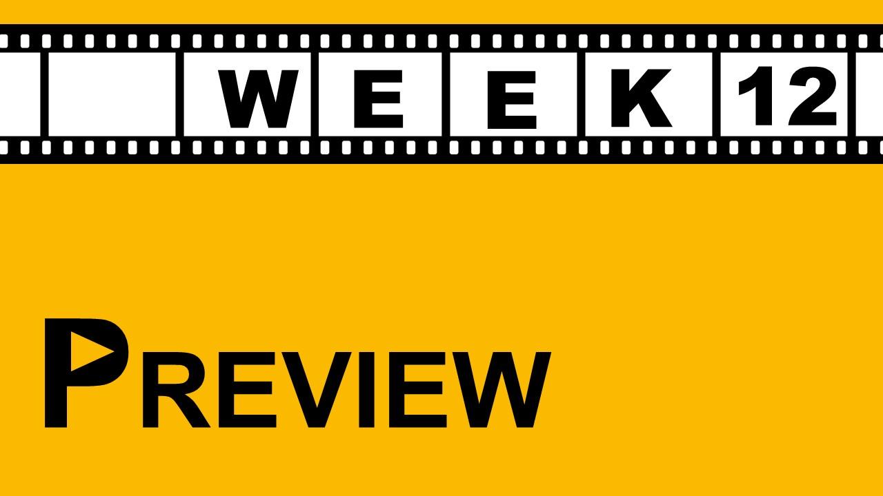 【プレビュー】Week12 注目の試合|運命を分ける首位攻防戦!!
