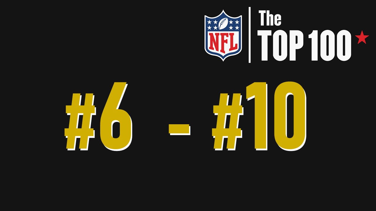 【NFL Top100 in2021】選手達が決めるランキング100! 6位~10位