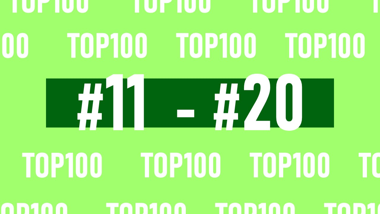 【NFL Top100 in2021】選手達が決めるランキング100! 11位~20位
