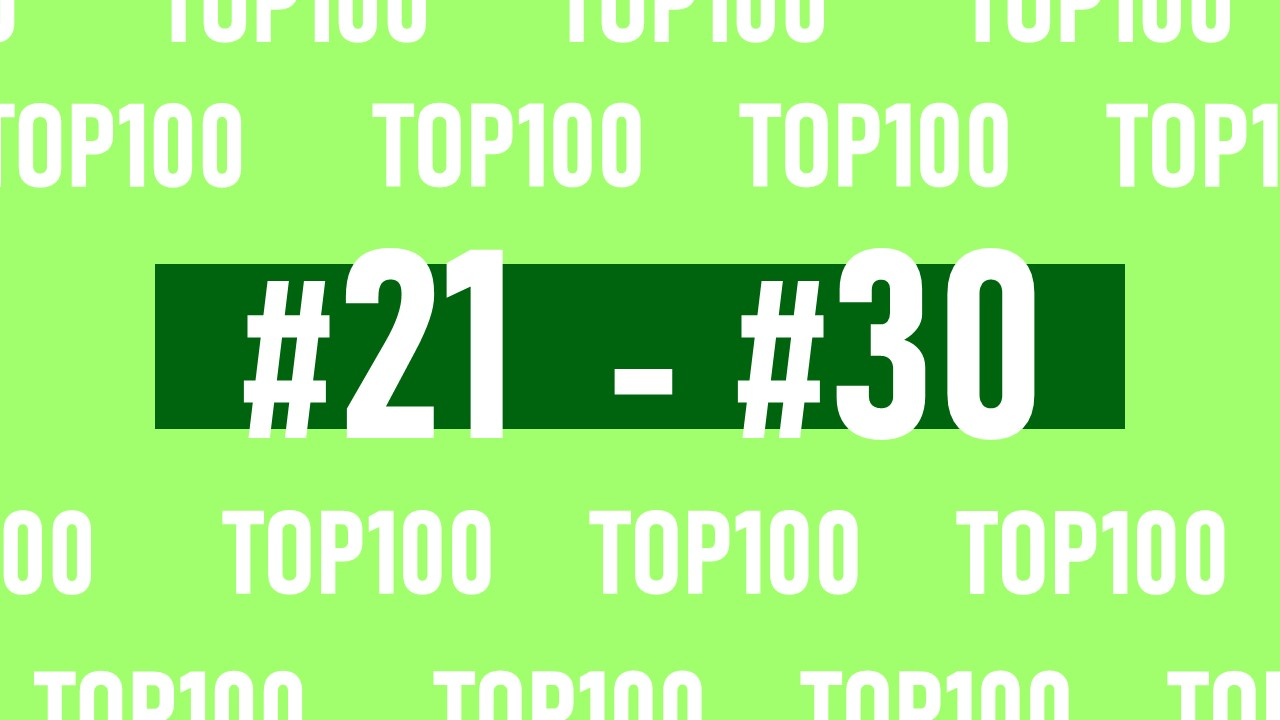 【NFL Top100 in2021】選手達が決めるランキング100! 21位~30位
