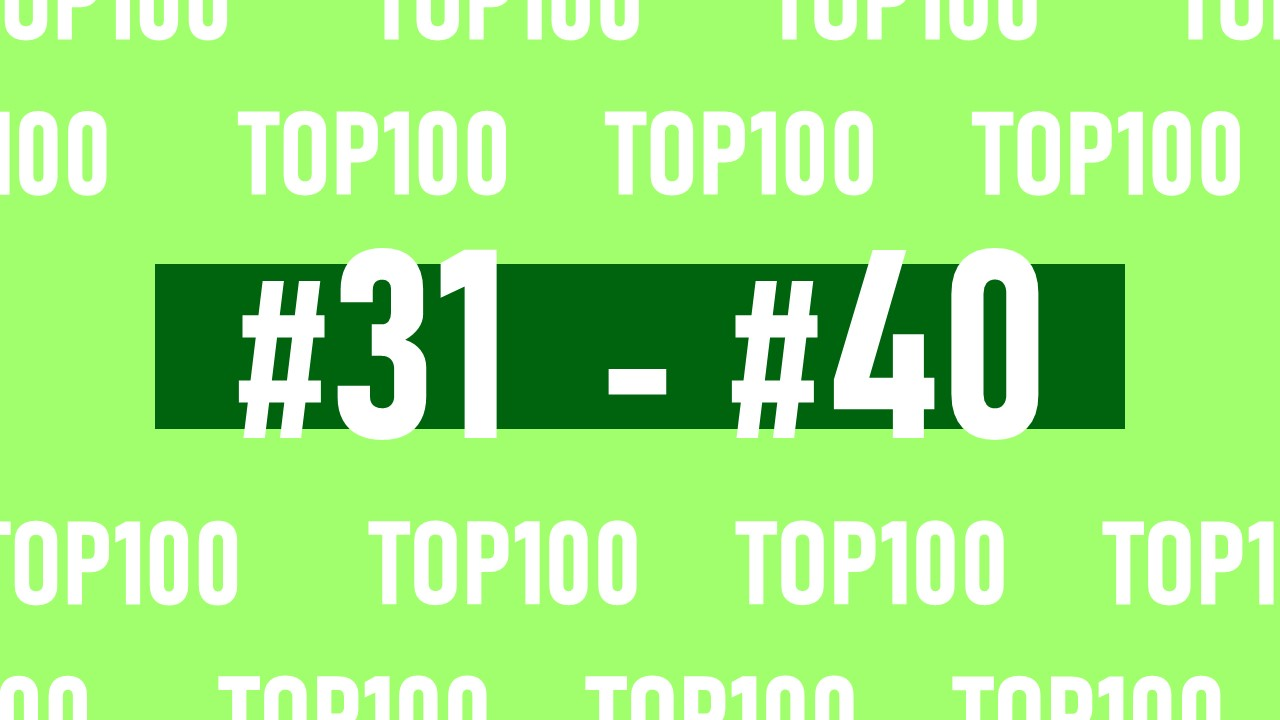 【NFL Top100 in2021】選手達が決めるランキング100! 31位~40位