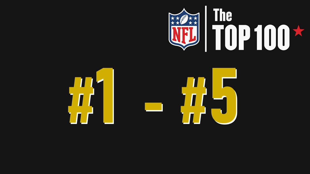 【NFL Top100 in2021】選手達が決めるランキング100! 1位~5位